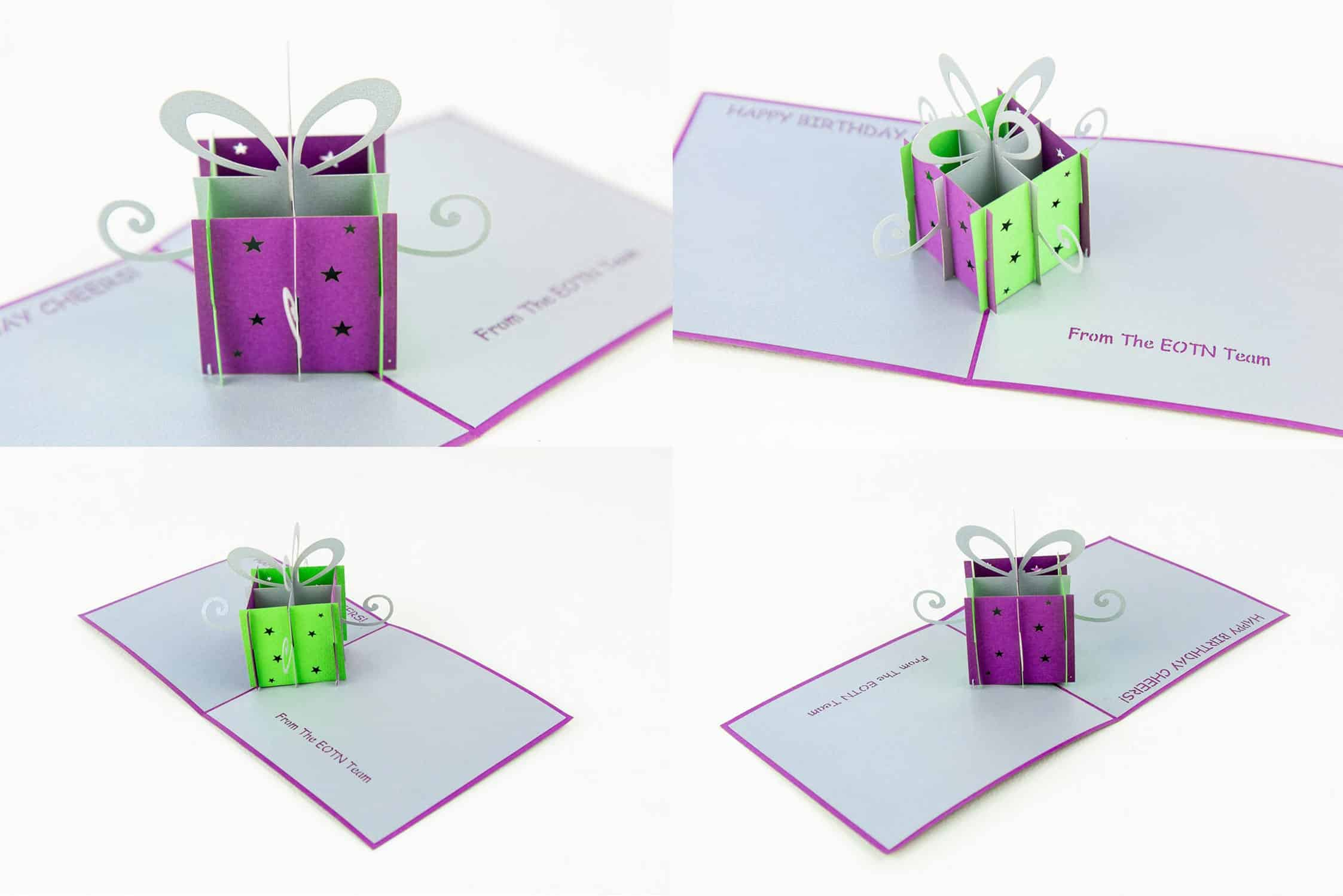 Gift Box Collage.